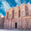 Facade of Monastery at Petra, Jordan — Stock Photo #8308867