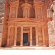 Al Khazneh - the treasury of Petra ancient city, Jordan — Stock Photo #8308868