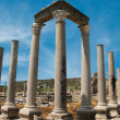 Ancient city of Perge near Antalya Turkey — Stock Photo #8309242