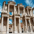 Facade of ancient Celsius Library in Ephesus, Turkey  — ストック写真