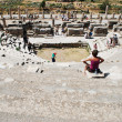 Amphitheater (Coliseum) in Ephesus (Efes) Turkey, Asia — Stock Photo #8309468