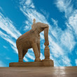 Statue in Ranakpur temple, Rajasthan — Stock Photo