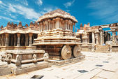 Vittala temple in Hampi, Karnataka province, South India, UNESCO world heri — Stock Photo