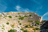 Theater in Termessos — Stock Photo