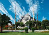 The Blue Mosque, (Sultanahmet Camii), Istanbul, Turkey — Stock Photo
