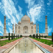Stock Photo: Taj Mahal in India