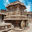 Vittala temple in Hampi, Karnataka province, South India, UNESCO world heri — Stock Photo #8313206