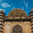Golgumbaz, a Mughal mausoleum in Bijapur — Stock Photo