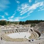 Amphitheater (Coliseum) in Ephesus (Efes) Turkey, Asia — Stock Photo #8314664