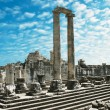 Stock Photo: View of Temple of Apollo in antique city of Didyma