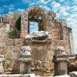 Ancient city of Perge near Antalya Turkey — Stock Photo #8314797