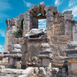 Ancient city of Perge near Antalya Turkey — Stock Photo