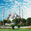 The Blue Mosque, (Sultanahmet Camii), Istanbul, Turkey — Stock Photo #8315049