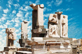 Antiquity greek city - Ephesus — Stock Photo
