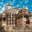 Erotic Temple in Khajuraho. MadhyPradesh, India. — Stock Photo #8325755