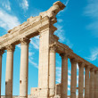 Ancient Roman time town in Palmyra, Syria. — Stock Photo
