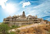 Jain Temple in Ranakpur,India — Stock Photo