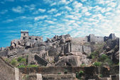 Historic Golkonda fort in Hyderabad city India — Stock Photo
