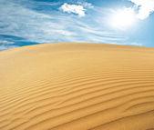 Deserto di sabbia — Foto Stock