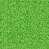 Textura sin fisuras con hierba verde — Vector de stock
