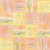 Bezešvé grunge deka prokládané akvarel vzor — Stock vektor