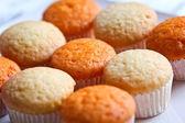 Orange and Vanilla cupcakes — Stock Photo
