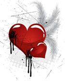Valentine`s heart — Stock Vector