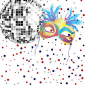 Carnival party — Stock Vector