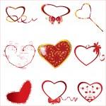 Heart collection — Stock Vector #9585504