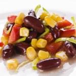 Bean salad — Stock Photo #8637921