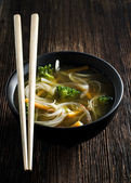 Asian soup — Stock Photo