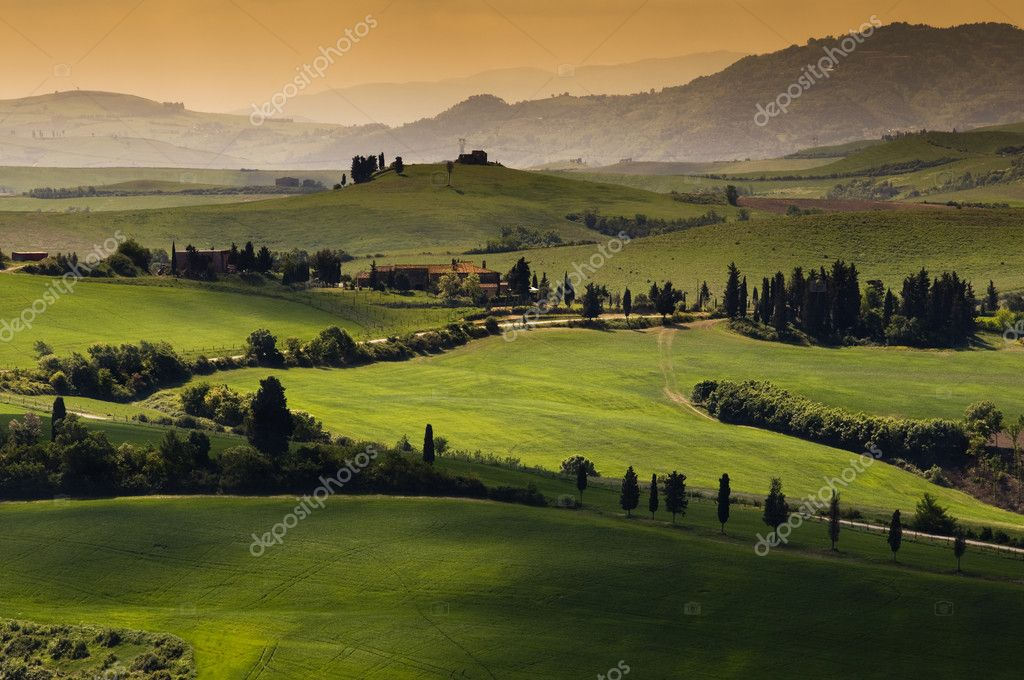 Прекрасная тоскана сладкая жизнь в италии