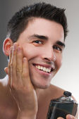 After shave — Stock Photo