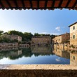 Bagno Vignoni - Tuscany — Stock Photo