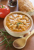 Bean stew — Stock Photo