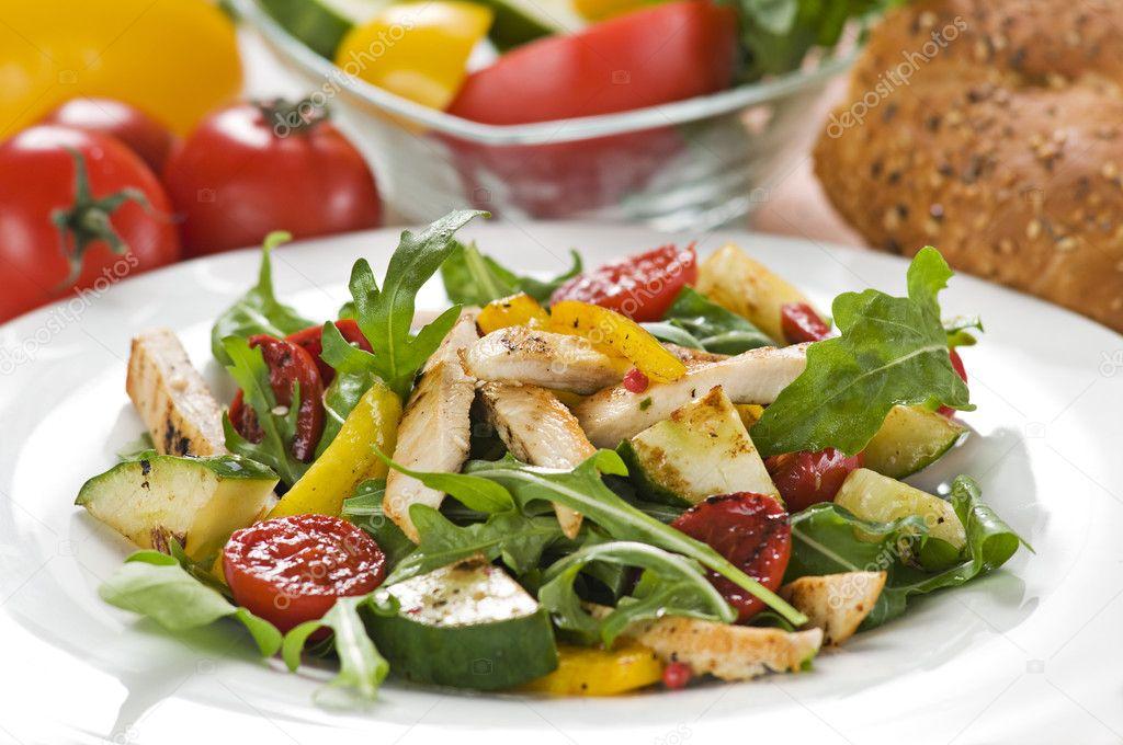 Диетические салаты овощные рецепты