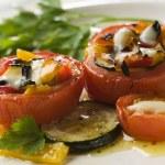 Stuffed tomato — Stock Photo #8808413