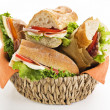 Sandwich — Stock Photo #8808548