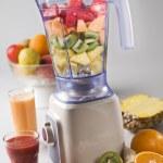Fruit in blender — Stock Photo #8808989