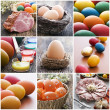 Easter collage — Stock Photo #8914829