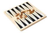Backgammon game — Stock Photo
