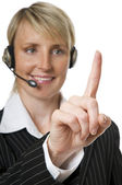 Headset — Stock Photo