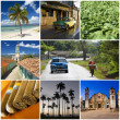 Cuba collage - Stock Photo