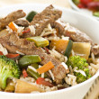Beef chop suey — Stock Photo