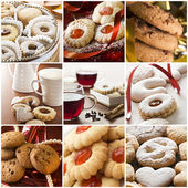 Cookie collage — Stock Photo