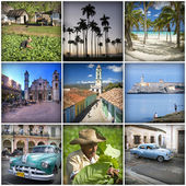 Cuba collage — Photo