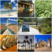 Collage de Cuba — Foto de Stock