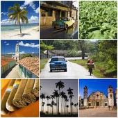 Cuba collage — Stock Photo