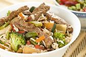 Beef chop suey — Stock Photo
