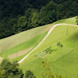 Road uphill - Stockfoto